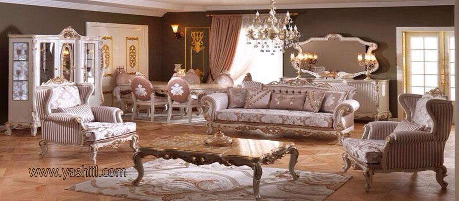مبلمان در طراحی داخلی به سبک کلاسیک