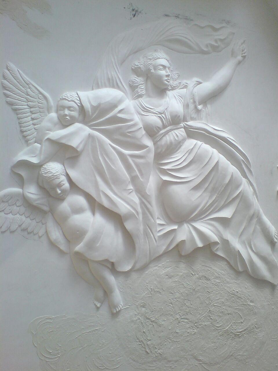 طراحی مورال ( فرشته )