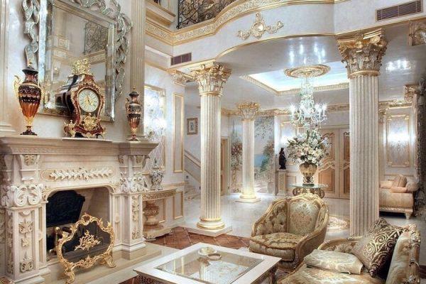 طراحی و چیدمان دکوراسیون داخلی به سبک کلاسیک