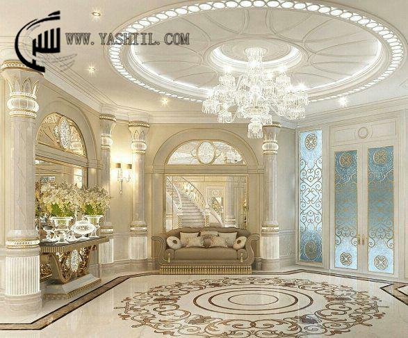 طراحی دکوراسیون داخلی خانه های بزرگ
