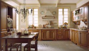 طراحی و دیزاین آشپزخانه به سبک کلاسیک