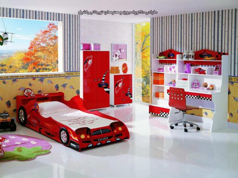 تخت اتاق کودک
