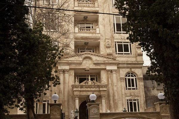 طراحی نمای ساختمان به سبک نمای رومی