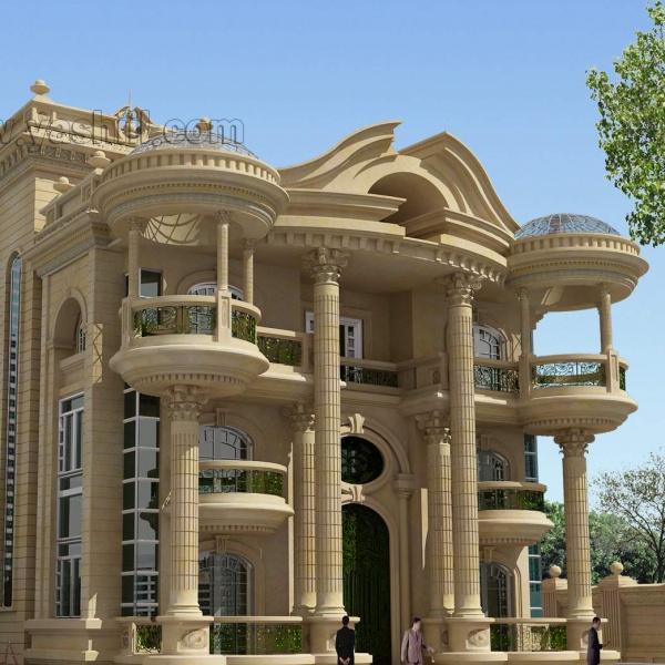 آشنایی با نمای رومی و نمای کلاسیک ساختمان