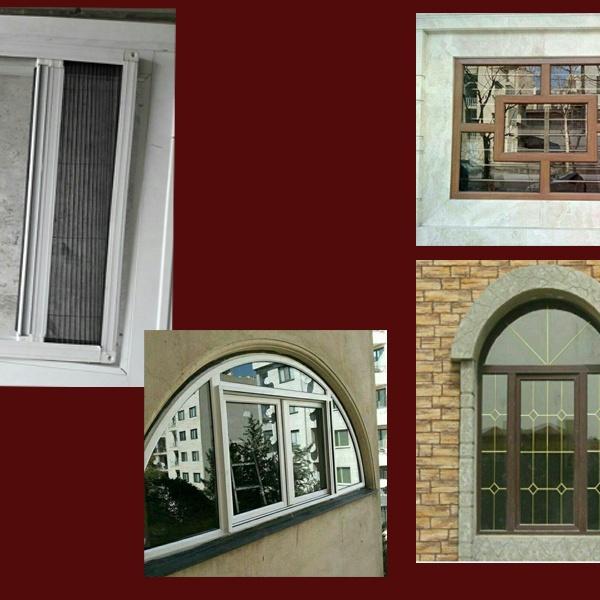 تولید درب و پنجره آلومینیومی و UPVC