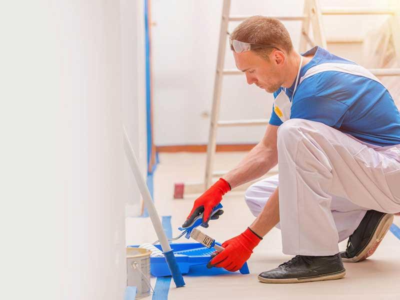 تعیین قیمت و هزینه نقاشی ساختمان - هزینه رنگ آمیزی ساختمان