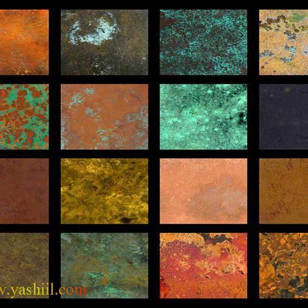 پتینه و کاربرد پتینه روی دیوار – گروه طراحی هنری یاشیل