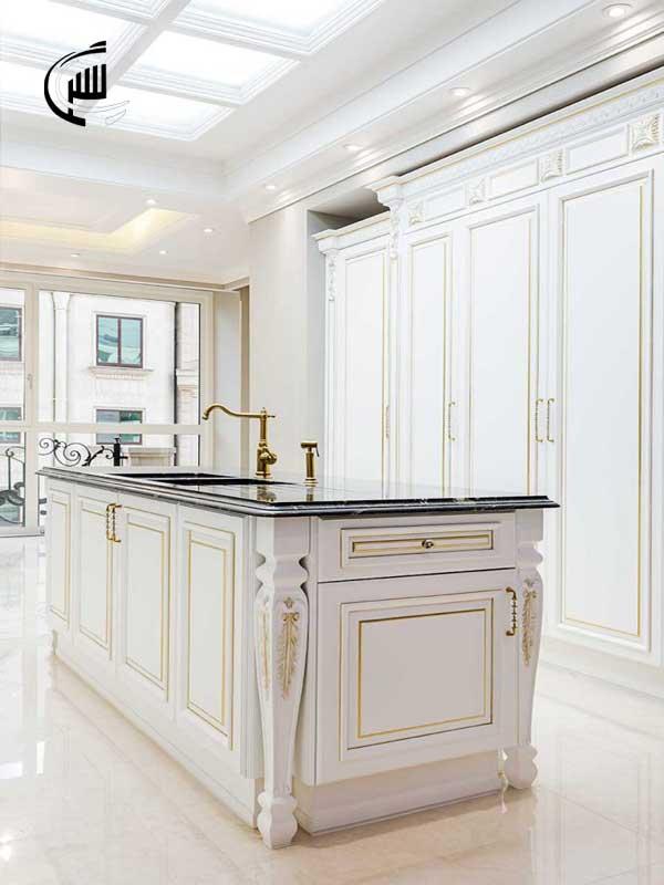 کابینت تمام چوب - قیمت کابینت آشپزخانه