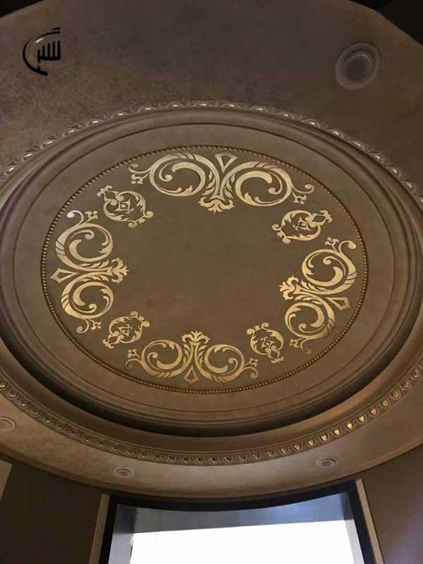 تزیینات داخلی یاشیل - نقاشی فرشته