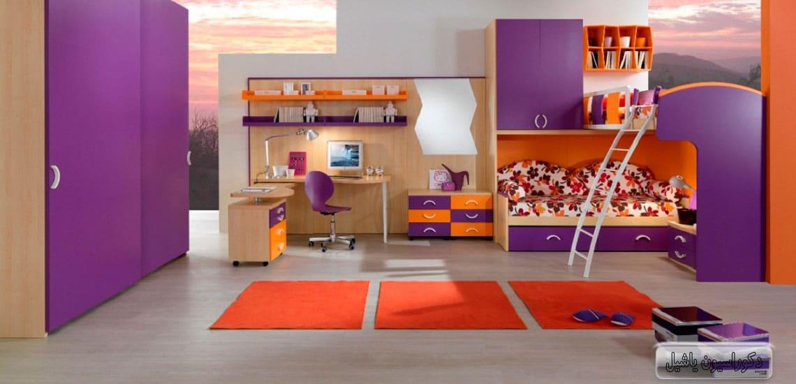 لوازم اتاق کودک - دکوراسیون اتاق کودک