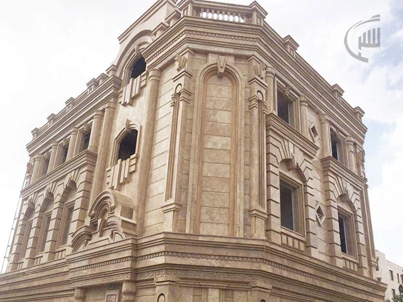طراحی نمای رومی