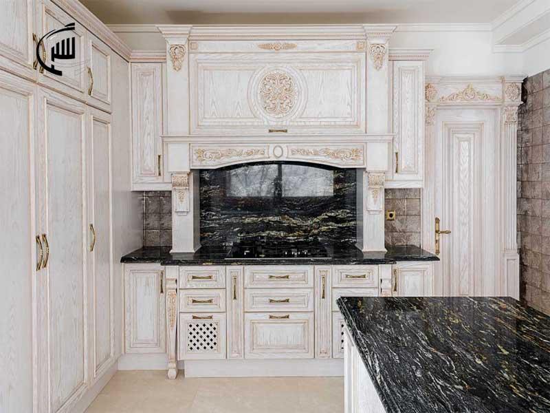 کابینت آشپزخانه - کابینت چوبی