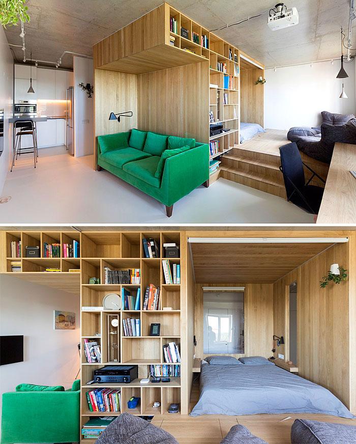 طراحی داخلی خانه های کوچک