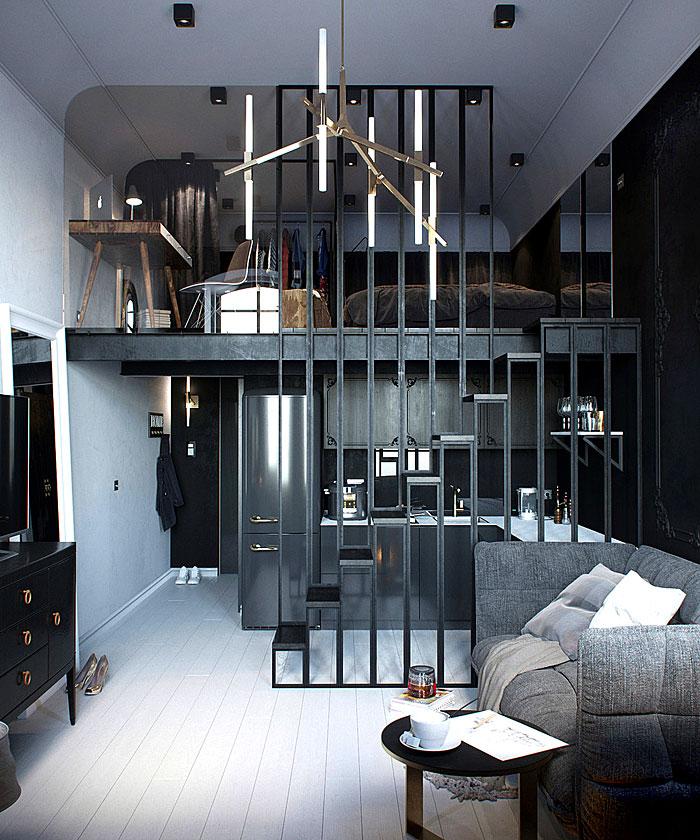 دکوراسیون داخلی خانه های کوچک یا طراحی داخلی