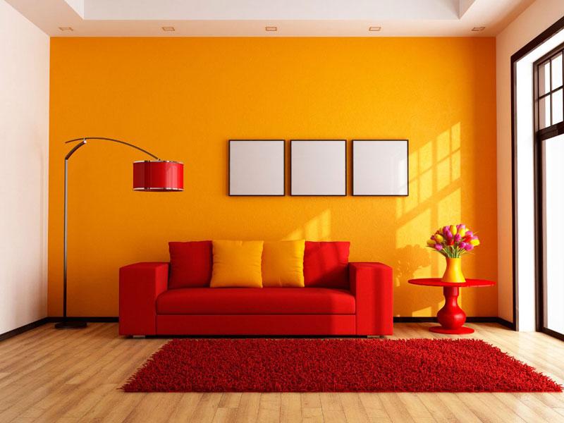رنگ مناسب اتاق نشیمن