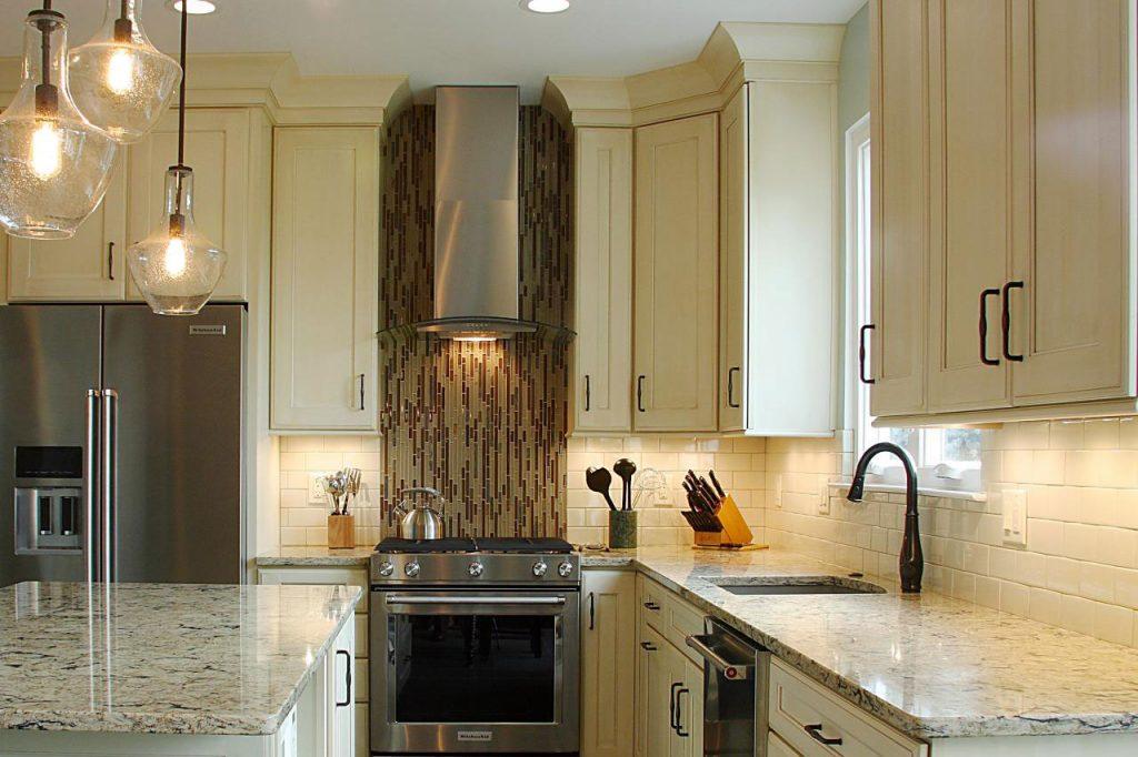 طراحی روشنایی آشپزخانه - نورپردازی آشپزخانه